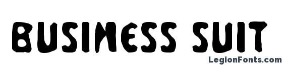 Business Suit Font
