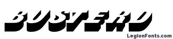 BusterD Font, 3D Fonts