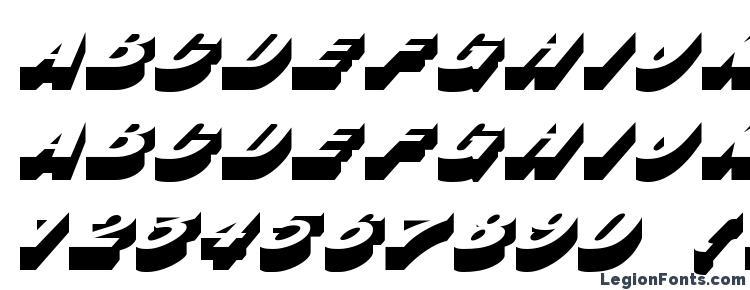 glyphs BusterITC Normal font, сharacters BusterITC Normal font, symbols BusterITC Normal font, character map BusterITC Normal font, preview BusterITC Normal font, abc BusterITC Normal font, BusterITC Normal font