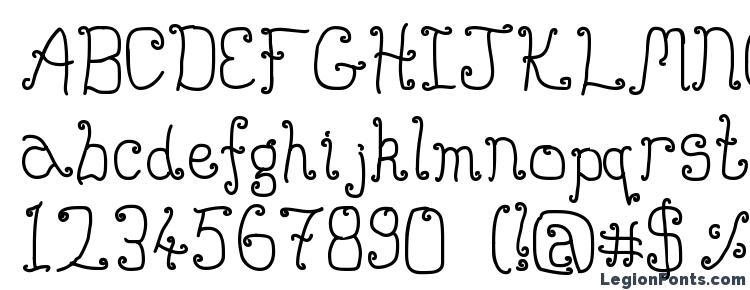 глифы шрифта Buttmunch, символы шрифта Buttmunch, символьная карта шрифта Buttmunch, предварительный просмотр шрифта Buttmunch, алфавит шрифта Buttmunch, шрифт Buttmunch