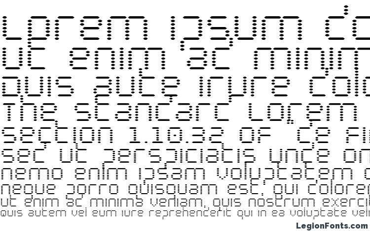 specimens Byte Police font, sample Byte Police font, an example of writing Byte Police font, review Byte Police font, preview Byte Police font, Byte Police font