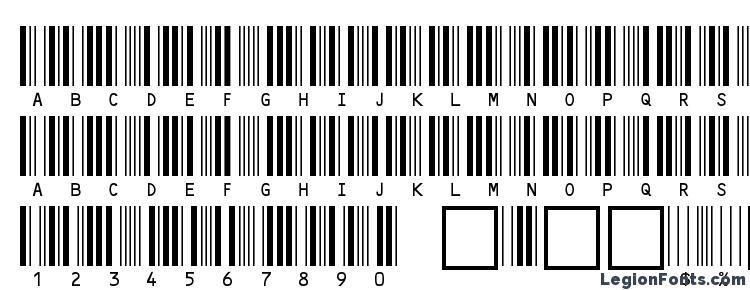 глифы шрифта C39HrP24DmTt, символы шрифта C39HrP24DmTt, символьная карта шрифта C39HrP24DmTt, предварительный просмотр шрифта C39HrP24DmTt, алфавит шрифта C39HrP24DmTt, шрифт C39HrP24DmTt