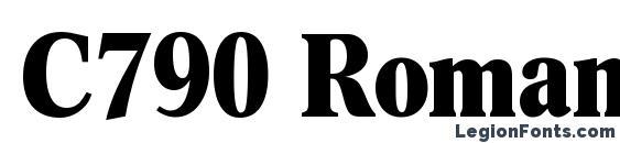 Шрифт C790 Roman Cd Bold