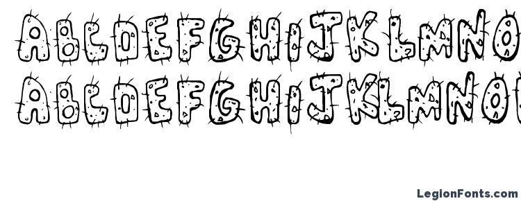 глифы шрифта Cactus, символы шрифта Cactus, символьная карта шрифта Cactus, предварительный просмотр шрифта Cactus, алфавит шрифта Cactus, шрифт Cactus