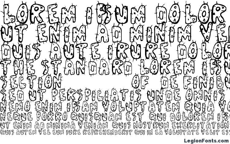 specimens Cactus font, sample Cactus font, an example of writing Cactus font, review Cactus font, preview Cactus font, Cactus font