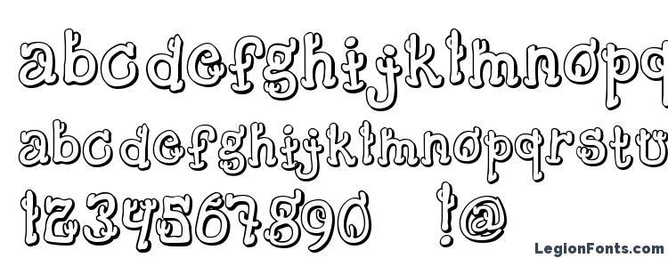 глифы шрифта Cactussandwichplain, символы шрифта Cactussandwichplain, символьная карта шрифта Cactussandwichplain, предварительный просмотр шрифта Cactussandwichplain, алфавит шрифта Cactussandwichplain, шрифт Cactussandwichplain