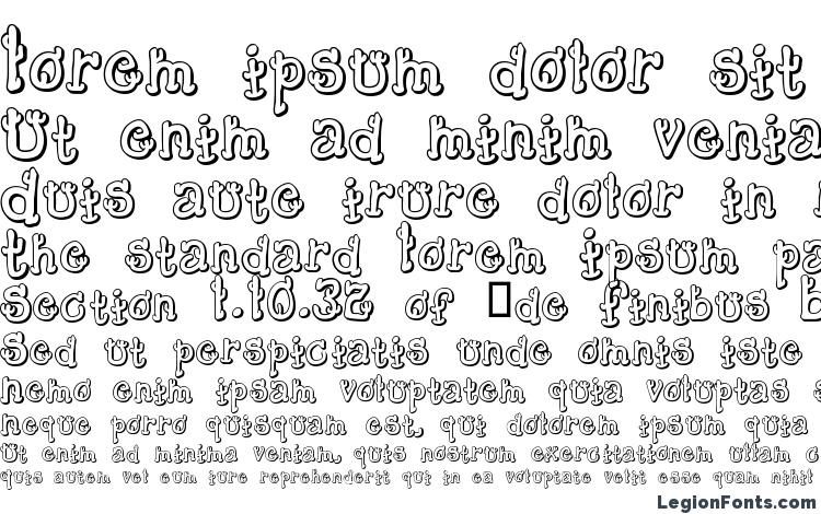 specimens Cactussandwichplain font, sample Cactussandwichplain font, an example of writing Cactussandwichplain font, review Cactussandwichplain font, preview Cactussandwichplain font, Cactussandwichplain font