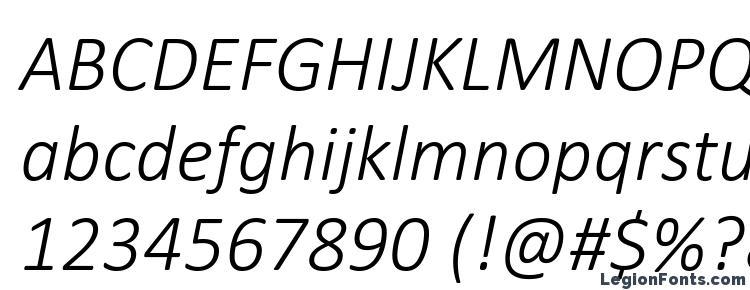 Calibri light italic Font Download Free / LegionFonts