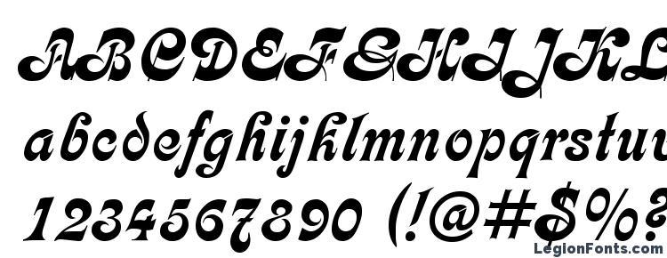 глифы шрифта Calligraph Medium, символы шрифта Calligraph Medium, символьная карта шрифта Calligraph Medium, предварительный просмотр шрифта Calligraph Medium, алфавит шрифта Calligraph Medium, шрифт Calligraph Medium
