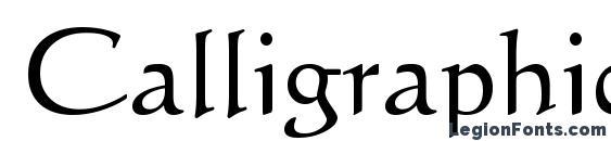 шрифт Calligraphic 421 BT, бесплатный шрифт Calligraphic 421 BT, предварительный просмотр шрифта Calligraphic 421 BT