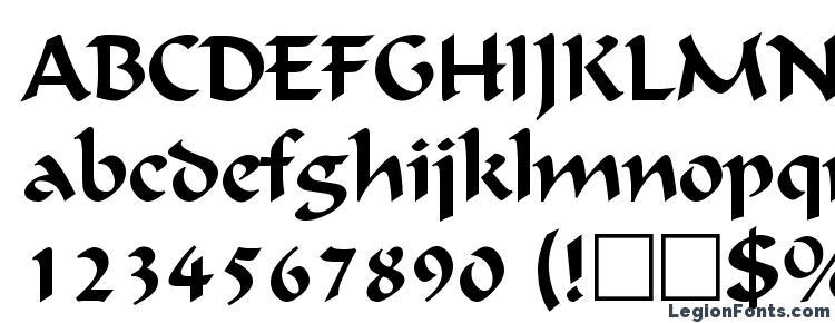 глифы шрифта Calligraphic Regular, символы шрифта Calligraphic Regular, символьная карта шрифта Calligraphic Regular, предварительный просмотр шрифта Calligraphic Regular, алфавит шрифта Calligraphic Regular, шрифт Calligraphic Regular