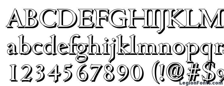 глифы шрифта CambridgeShadow Regular, символы шрифта CambridgeShadow Regular, символьная карта шрифта CambridgeShadow Regular, предварительный просмотр шрифта CambridgeShadow Regular, алфавит шрифта CambridgeShadow Regular, шрифт CambridgeShadow Regular