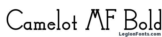 Camelot MF Bold Font