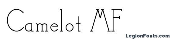 Camelot MF Font
