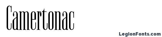Camertonac Font