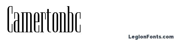 Camertonbc Font