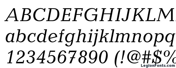 глифы шрифта Candida LT Italic, символы шрифта Candida LT Italic, символьная карта шрифта Candida LT Italic, предварительный просмотр шрифта Candida LT Italic, алфавит шрифта Candida LT Italic, шрифт Candida LT Italic