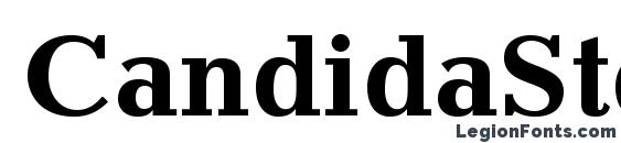 Шрифт CandidaStd Bold