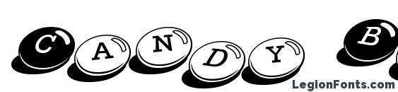 шрифт Candy Bits BT, бесплатный шрифт Candy Bits BT, предварительный просмотр шрифта Candy Bits BT