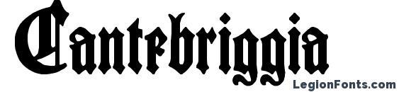 Cantebriggia Font, Halloween Fonts