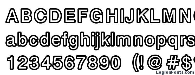 глифы шрифта Carbono, символы шрифта Carbono, символьная карта шрифта Carbono, предварительный просмотр шрифта Carbono, алфавит шрифта Carbono, шрифт Carbono