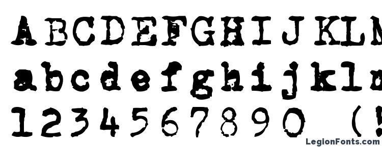 глифы шрифта CarbonType, символы шрифта CarbonType, символьная карта шрифта CarbonType, предварительный просмотр шрифта CarbonType, алфавит шрифта CarbonType, шрифт CarbonType