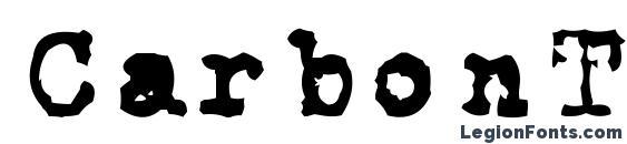 Шрифт CarbonType