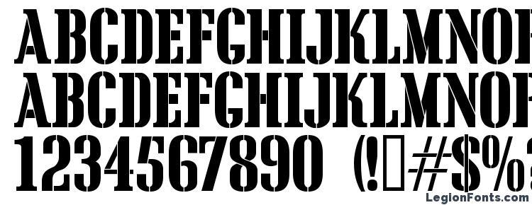 глифы шрифта Cargocrate, символы шрифта Cargocrate, символьная карта шрифта Cargocrate, предварительный просмотр шрифта Cargocrate, алфавит шрифта Cargocrate, шрифт Cargocrate