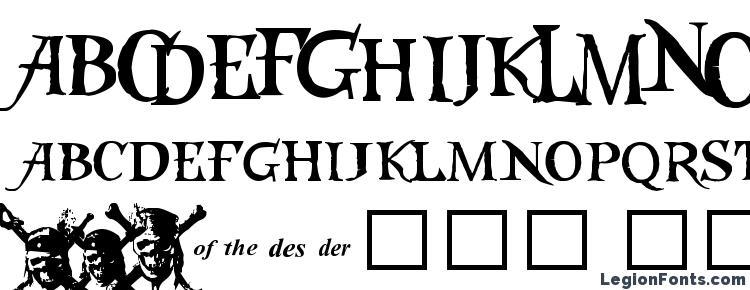 glyphs Caribbeans Treasure font, сharacters Caribbeans Treasure font, symbols Caribbeans Treasure font, character map Caribbeans Treasure font, preview Caribbeans Treasure font, abc Caribbeans Treasure font, Caribbeans Treasure font