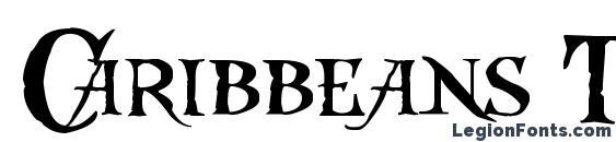 Caribbeans Treasure Font