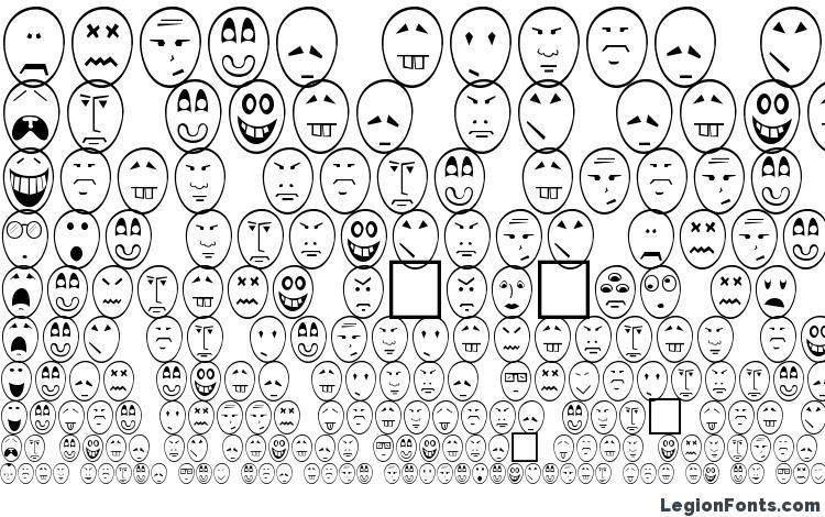 образцы шрифта Caricature Normal, образец шрифта Caricature Normal, пример написания шрифта Caricature Normal, просмотр шрифта Caricature Normal, предосмотр шрифта Caricature Normal, шрифт Caricature Normal