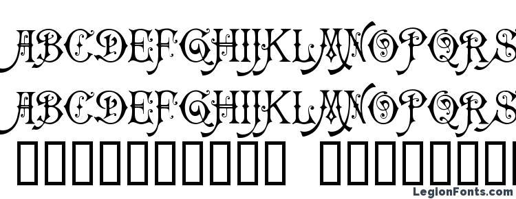 глифы шрифта Carmencita, символы шрифта Carmencita, символьная карта шрифта Carmencita, предварительный просмотр шрифта Carmencita, алфавит шрифта Carmencita, шрифт Carmencita