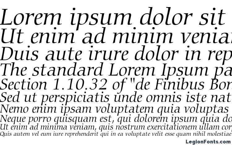 specimens Carmina Light Italic BT font, sample Carmina Light Italic BT font, an example of writing Carmina Light Italic BT font, review Carmina Light Italic BT font, preview Carmina Light Italic BT font, Carmina Light Italic BT font