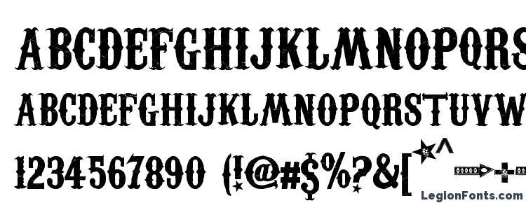glyphs Carnivalee Freakshow font, сharacters Carnivalee Freakshow font, symbols Carnivalee Freakshow font, character map Carnivalee Freakshow font, preview Carnivalee Freakshow font, abc Carnivalee Freakshow font, Carnivalee Freakshow font