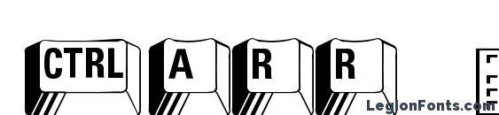 Carr Keys Font, Icons Fonts