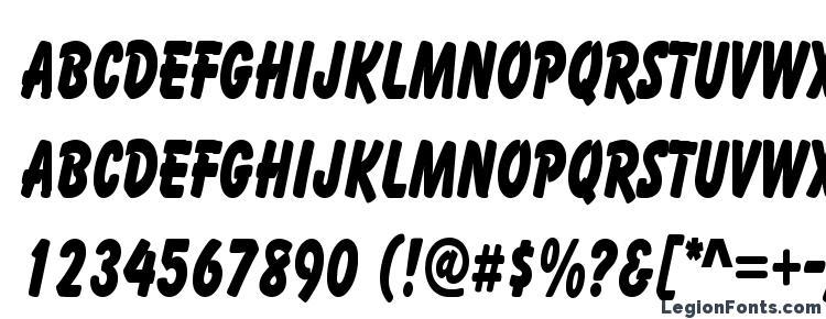 glyphs Cartoon Condensed font, сharacters Cartoon Condensed font, symbols Cartoon Condensed font, character map Cartoon Condensed font, preview Cartoon Condensed font, abc Cartoon Condensed font, Cartoon Condensed font