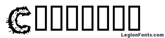 Carvings Font