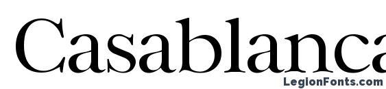 CasablancaLH Regular Font