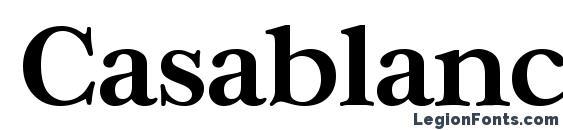 CasablancaSerial Bold Font, Serif Fonts