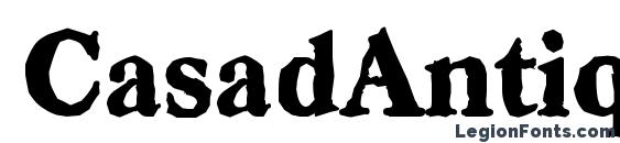 CasadAntique Heavy Regular Font