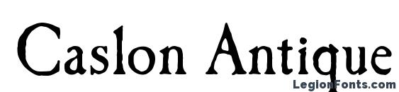 Caslon Antique Regular Font