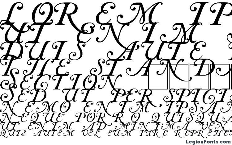 specimens Caslon Initials font, sample Caslon Initials font, an example of writing Caslon Initials font, review Caslon Initials font, preview Caslon Initials font, Caslon Initials font