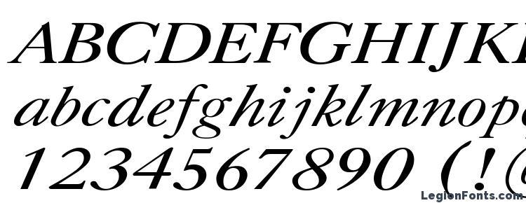 глифы шрифта Caslon Italic.001.001, символы шрифта Caslon Italic.001.001, символьная карта шрифта Caslon Italic.001.001, предварительный просмотр шрифта Caslon Italic.001.001, алфавит шрифта Caslon Italic.001.001, шрифт Caslon Italic.001.001
