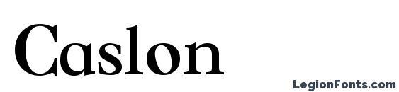 Caslon Font, Russian Fonts