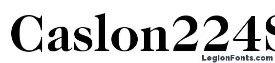 Caslon224Std Bold font, free Caslon224Std Bold font, preview Caslon224Std Bold font