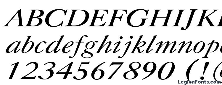 глифы шрифта CaslonCTT Italic, символы шрифта CaslonCTT Italic, символьная карта шрифта CaslonCTT Italic, предварительный просмотр шрифта CaslonCTT Italic, алфавит шрифта CaslonCTT Italic, шрифт CaslonCTT Italic