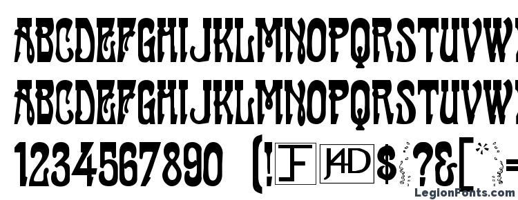 глифы шрифта Casting, символы шрифта Casting, символьная карта шрифта Casting, предварительный просмотр шрифта Casting, алфавит шрифта Casting, шрифт Casting