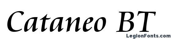 Cataneo BT Font