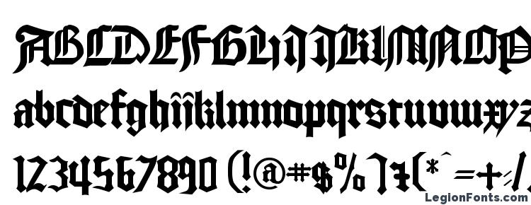 glyphs Cathedral Normal font, сharacters Cathedral Normal font, symbols Cathedral Normal font, character map Cathedral Normal font, preview Cathedral Normal font, abc Cathedral Normal font, Cathedral Normal font