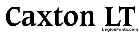 Шрифт Caxton LT Bold